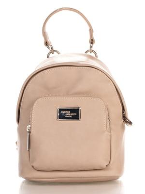Рюкзак бежевий | 4178981