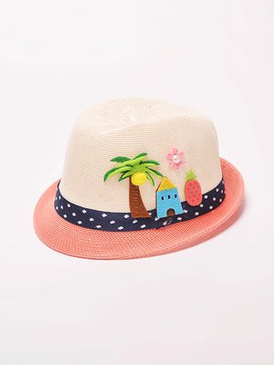 Шляпа розово-персикового цвета | 4269485