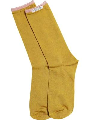 Носки горчичного цвета   4271499