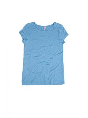 Футболка серо-голубая | 4271064