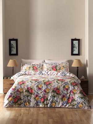 Комплект постільної білизни двоспальний (євро) | 4220595
