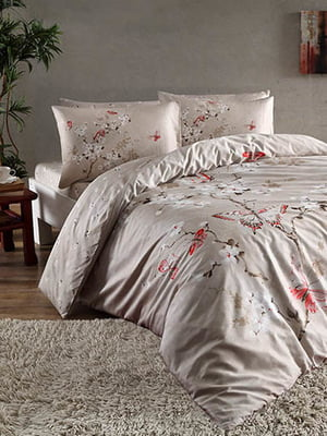 Комплект постельного белья семейный   4274867