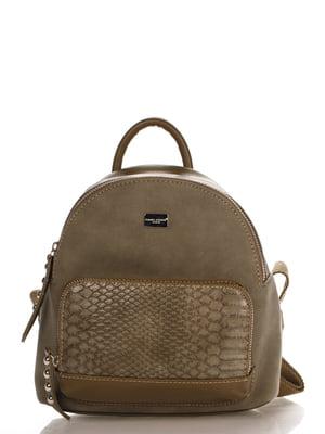 Рюкзак цвета хаки | 4263288