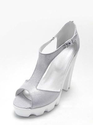 Босоніжки сріблясті | 4279186