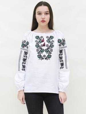 Вышиванка белая - SOPHIE MARIA - 4280432