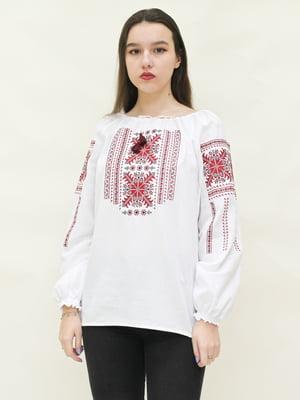 Вышиванка белая - SOPHIE MARIA - 4280435