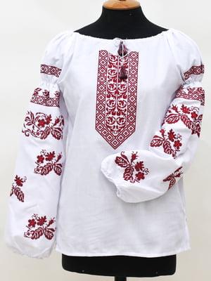 Вышиванка белая - SOPHIE MARIA - 4280445