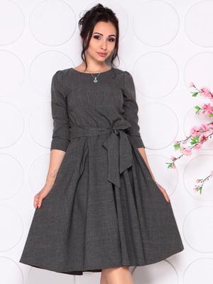 Платье графитового цвета   4279679