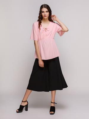 Блуза кольору пудри | 4267640