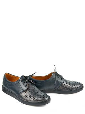 Туфли синие   4281415