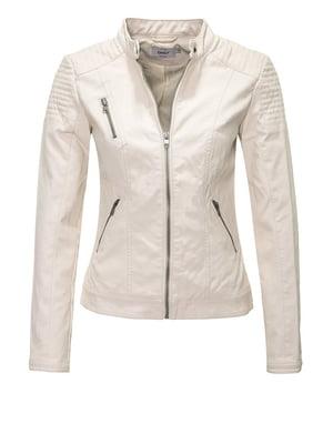 Куртка молочного кольору | 4276384