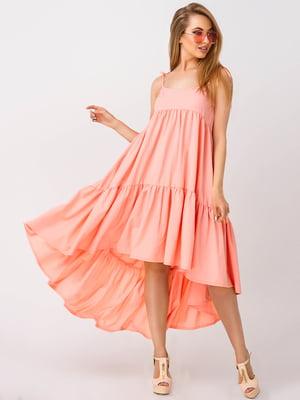 Сарафан персикового цвета | 4283834