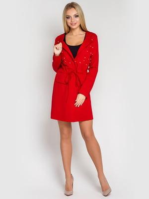 Кардиган красный | 4283850