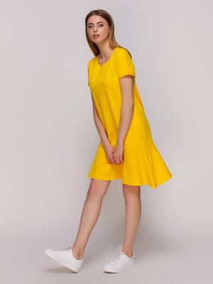 Платье желтое | 4276864