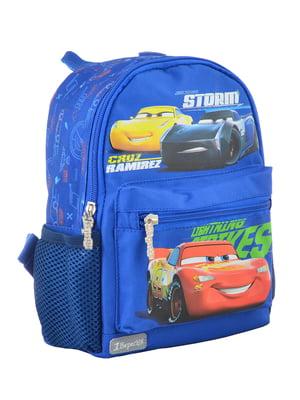 Рюкзак дитячий синій з принтом | 4284768