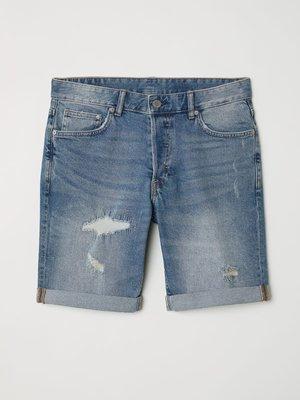 Шорты синие джинсовые | 4284808
