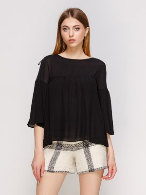 Блуза черная | 3265528