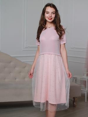 Сукня рожева | 4287029