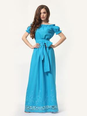 Сукня блакитна | 4297851