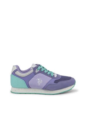 Кроссовки фиолетовые   4298323