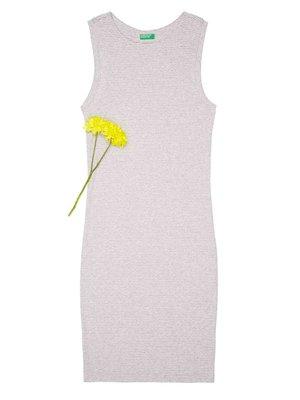 Платье белое в полоску | 4229733