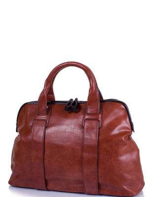 Сумка красно-коричневая   4301417