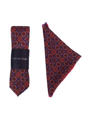 Набір подарунковий: краватка і нагрудна хустка-паше | 4301524