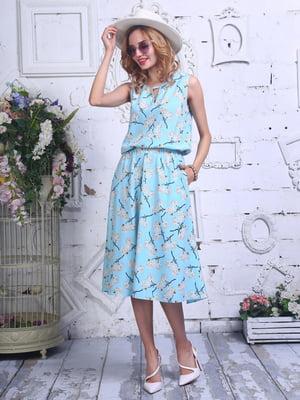 Сукня в квітковий принт | 4302290