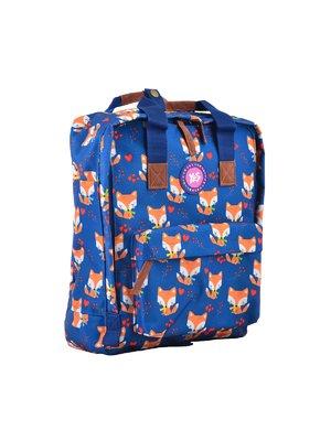 Рюкзак молодіжний синій в принт | 4284705