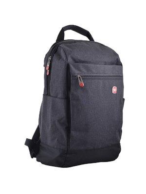Рюкзак-сумка темно-сірий | 4284710