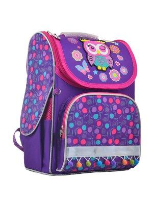 Рюкзак каркасний фіолетовий в принт | 4284746