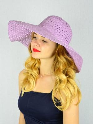Шляпа сиреневая | 4305080