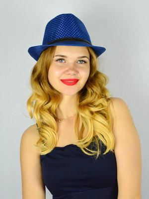 Шляпа синяя   4305095