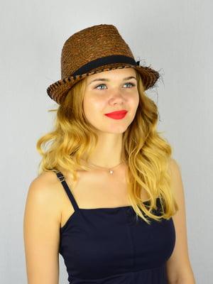 Шляпа коричневая   4305099