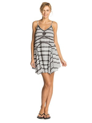 Сукня сіра в смужку | 4240879