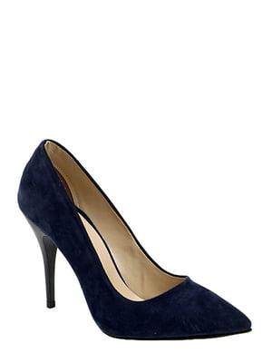 Туфли темно-синие | 4306537