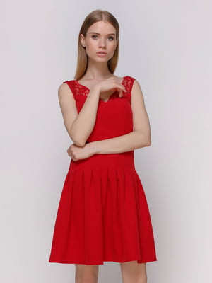 Платье красное | 4108780