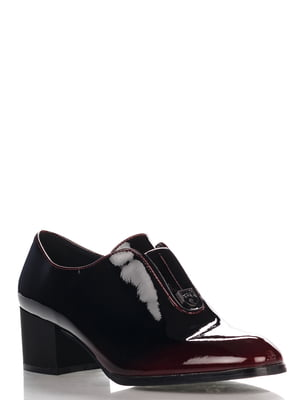 Туфли бордовые | 4306390