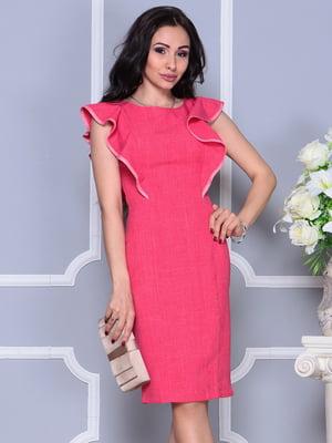 Платье цвета красный коралл | 4297705