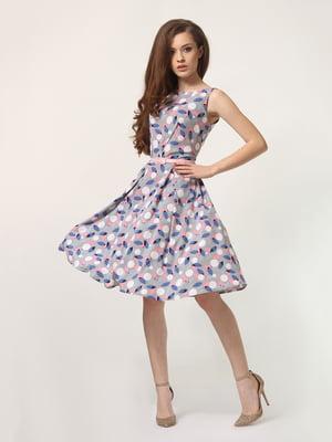 Платье в принт | 4311897