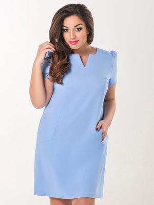 Сукня блакитна | 4308134