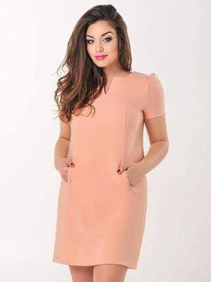 Сукня абрикосового кольору | 4308140