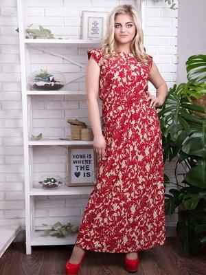 Сукня червона - ALL POSA - 4314793