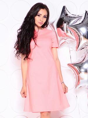 Платье коралловое | 4314717