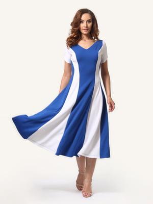 Платье сине-белое | 4315733