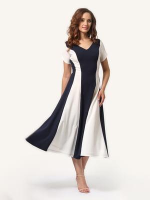 Платье сине-белое | 4315735