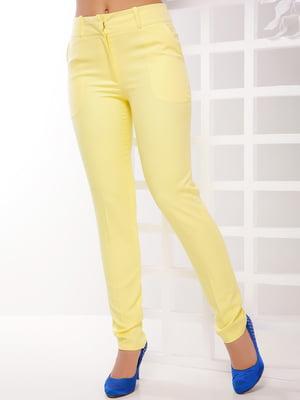 Штани лимонного кольору | 4316234