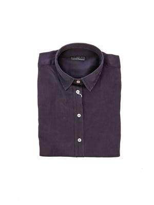 Рубашка темно-синяя - Fred Perry - 4317736