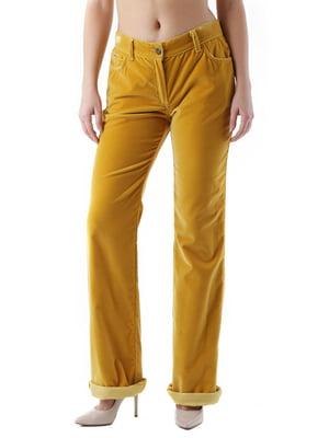 Брюки желтые | 4321243