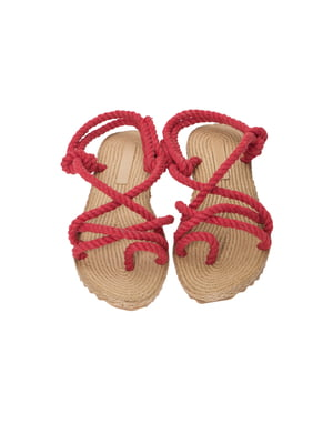 Сандалии-вьетнамки красные | 4323032